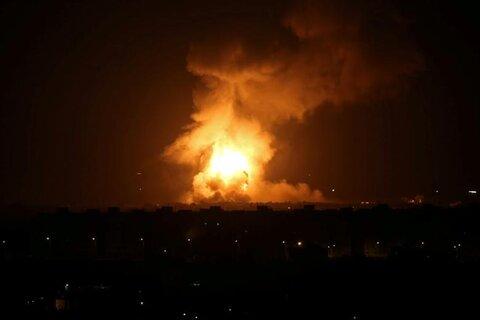 حمله صخیونیستها به غزه