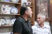 حضور کادر تیم ملی فوتبال در سیرجان
