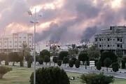 آتشسوزی در تاسیسات آرامکوی عربستان