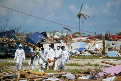 باهاما - پس از توفان