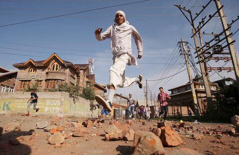 کشمیر - حمله پلیس هند