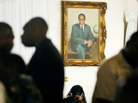 مرگ موگابه