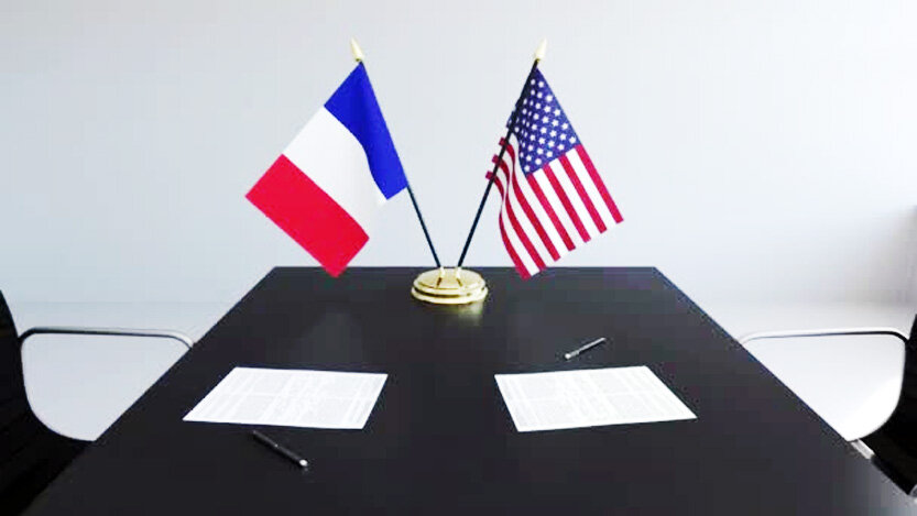 آمریکا فرانسه 833