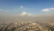 افزایش موقتی غلظت آلایندههای هوا در مناطق پرتردد تهران