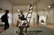 فیلم | اجرای هنرمندان در نهمین سمپوزیوم بینالمللی مجسمهسازی تهران
