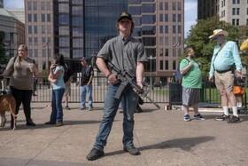 عکس روز: حامیان حق داشتن سلاح