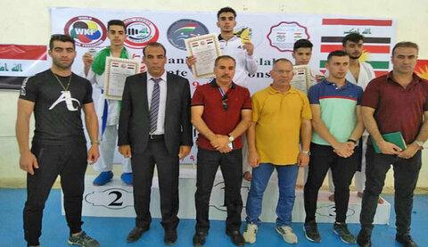 تیم منتخب گوجوریو سی واکای ایران در مسابقات بینالمللی عراق به عنوان سوم رسید