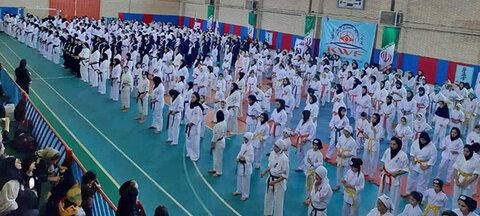 مسابقات قهرمانی کشور بانوان سبک کیوکوشین KWF برگزار شد