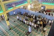 بازگشایی مساجد و اماکن زیارتی یزد | امکان اقامه نماز جماعت با رعایت اصول بهداشتی