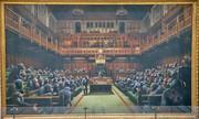پیشگویی ۱۰ سال پیش بنکسی از سرانجام برگزیت |شامپانزهها در مجلس عوام