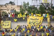 محرومیت برای تماشاگران تیم نفت مسجد سلیمان