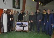 مراسم بزرگداشت امیر سرتیپ دوم خلبان توانگریان برگزار شد