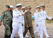 سرلشکر موسوی از یگانهای نیروی دریایی ارتش در منجیل بازدید کرد