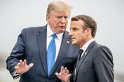 مکرون با ترامپ درباره ایران دیدار میکند