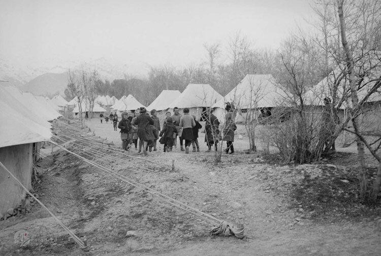 اردوگاه مهاجران جنگی لهستانی در بندر انزلی