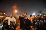 تظاهرات شبانه مخالفان سیسی در مصر