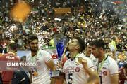والیبال ایران بر بام قهرمانی آسیا