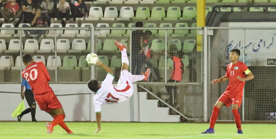 فوتبال ايران و فلسطين