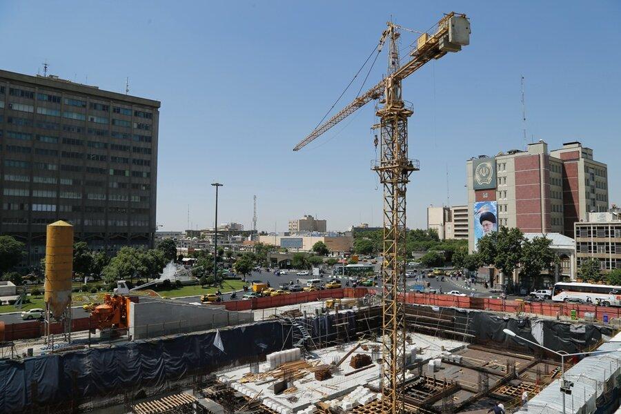 میدان امام خمینی توپخانه ساختمان بلدیه