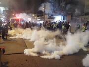 شب ناآرام هنگکنگ | اعتراضات ضد دولتی ادامه دارد