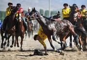 عکس روز: مسابقه بزکشی