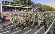 رژه اقتدار نیروهای مسلح در ۳ استان