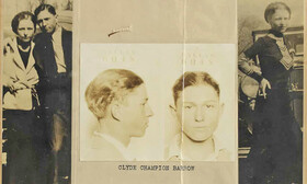 حراج یادگارهای بانی و کلاید | شاتگان ۶۸ هزار دلاری