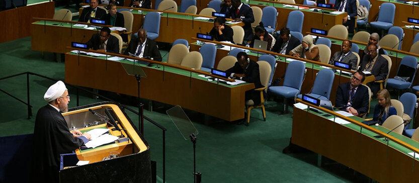 روحاني سازمان ملل