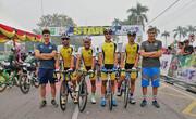 نایب قهرمانی سپاهان در تور دوچرخهسواری سیاک اندونزی