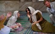عکس روز: مگان مرکل در مسجد اول