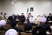 دیدار رئیس و نمایندگان مجلس خبرگان با رهبر معظم انقلاب اسلامی