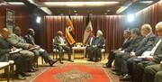 نخست وزیر اوگاندا با روحانی دیدار کرد