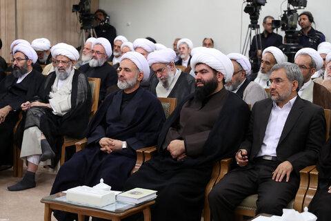 دیدار رئیس و نمایندگان مجلس خبرگان رهبری