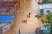 تخلیه بیش از ۴۴ هزار نفر در پی بارندگیهای شدید سریلانکا