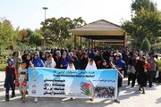 همایش بزرگ پیادهروی ناشنوایان پایتخت در پارک رازی