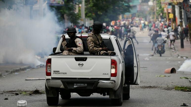 ناآرامی در هائیتی