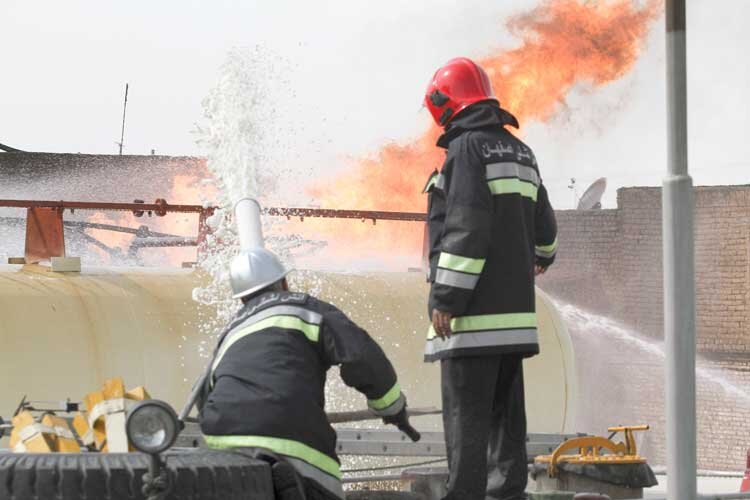 تقویت آتشنشانی اصفهان در افق 1400
