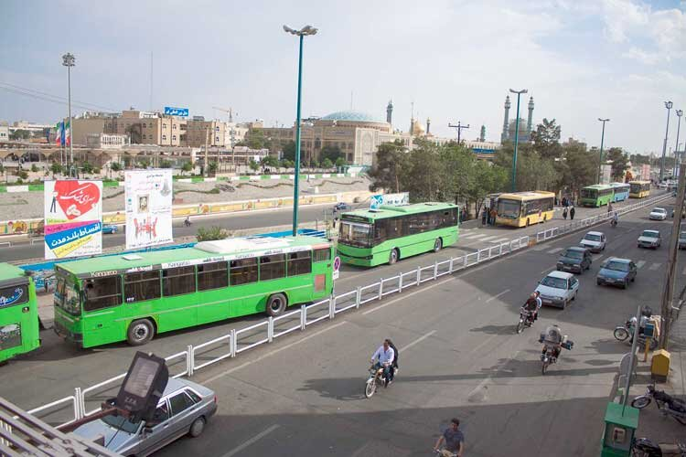 اتوبوسرانی قم و چالش نبود مسافر