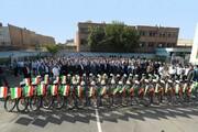 خانه تا مدرسه با دوچرخه