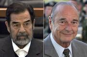 انگلیس ادعا کرد: ژاک شیراک از صدام ۵ میلیون پوند رشوه گرفته بود