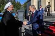 گزارش تصویری دیدار روحانی با نخست وزیر ارمنستان