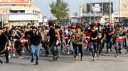 برقراری ممنوعیت رفت و آمد در بغداد در پی ادامه اعتراضها