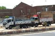 ترافیک ۱۸۰۰ تریلی در بناب