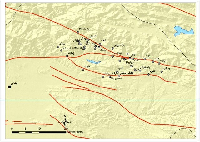 زلزله شرق تهران