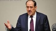 هشدار مالکی نسبت به خرابکاران نفوذی در اعتراضات عراق