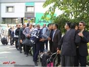 برگزاری مراسم بدرقه ۸۲ خادم زوار الحسین (ع) منطقه ۱۵ به کربلای معلی