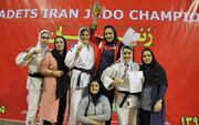 دختران لرستان فاتح پیکارهای جودوی قهرمانی نوجوانان کشور شدند