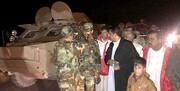 امداد رسانی تیپ ۲۸۸ زرهی به سیل زدگان خاش