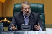 مزاح لاریجانی با نماینده مستعفی: حالا ببیند رأی چه میشود، بعد دست ببوسید