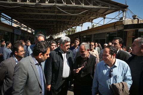 تهرانگردی احمد مسجدجامعی با موضوع هفته تهران | عكس از جواد گلزار